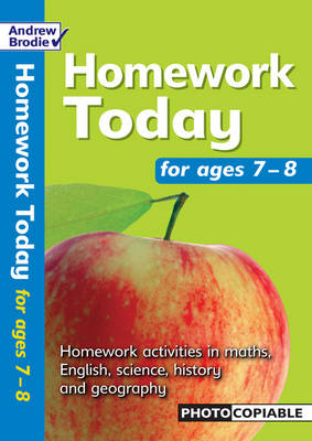 Homework Today: For Ages 7-8 - Homework Today (Paperback)