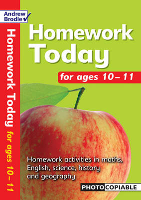 Homework Today for Ages 10-11 - Homework Today (Paperback)