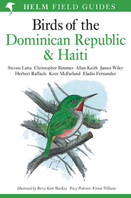 Birds of the Dominican Republic and Haiti - Helm Field Guides (Paperback)
