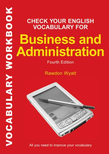 Check your English Vocabulary for Business & Administration (Board book)