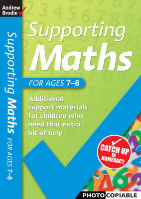Supporting Maths for Ages 7-8 - Supporting Maths (Paperback)