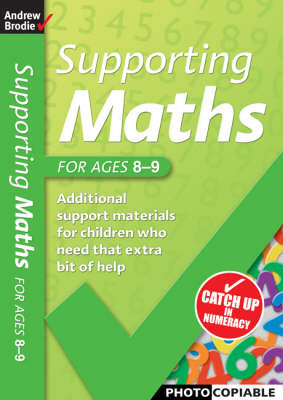Supporting Maths for Ages 8-9 - Supporting Maths (Paperback)