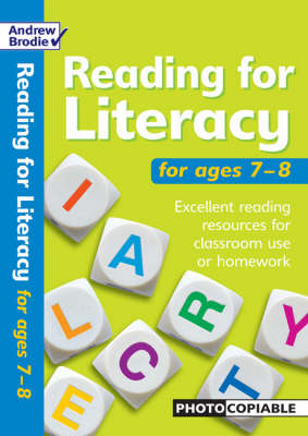 Reading for Literacy for Ages 7-8: Excellent Reading Resources for Classroom Use or Homework (Paperback)