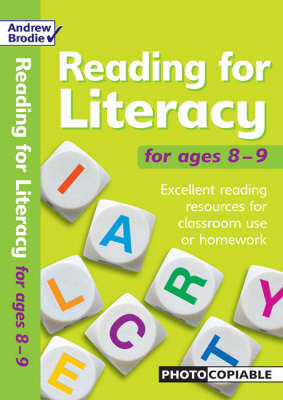 Reading for Literacy for Ages 8-9: Excellent Reading Resource for Classroom Use or Homework - Reading for Literacy (Paperback)