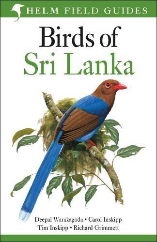 Birds of Sri Lanka - Helm Field Guides (Paperback)