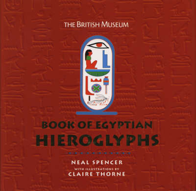 B.M.Book of Egyptian Hieroglyphs (Hardback)