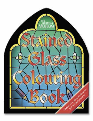 Stained Glass: Shaped - British Museum Colouring Books