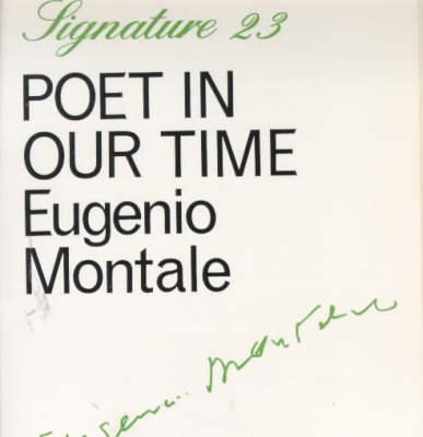 Poet in Our Time - Signature (Paperback)