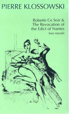 Roberte Ce Soir (Paperback)