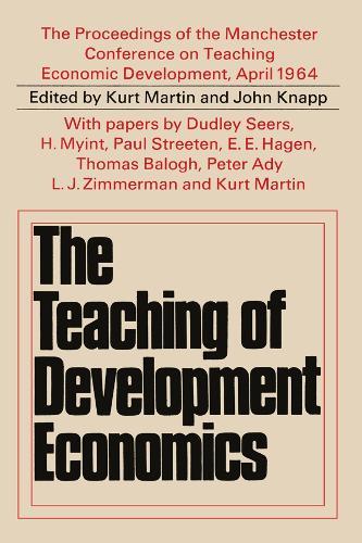Teaching of Development Economics (Hardback)