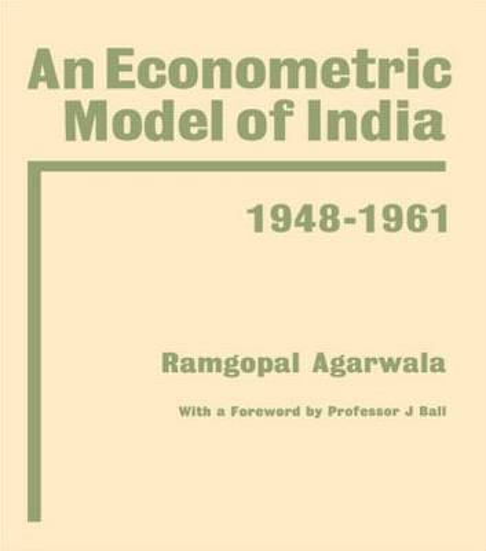 Econometric Model of India (Hardback)