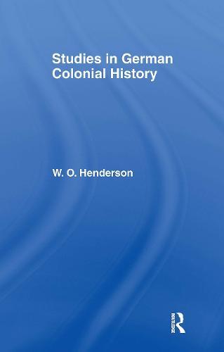 Studies in German Colonial History (Hardback)