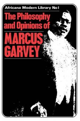 More Philosophy and Opinions of Marcus Garvey (Hardback)