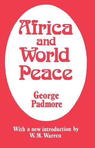 Africa and World Peace (Hardback)