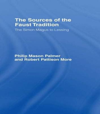 Sources of the Faust Trad Cb (Hardback)