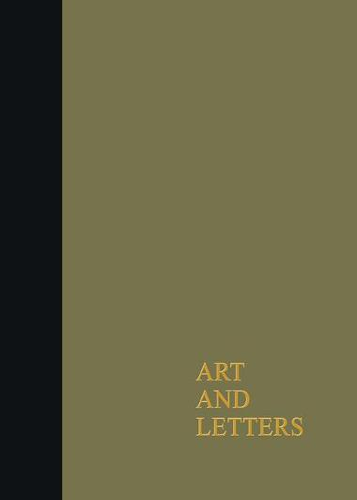 Art & Letters July-Winter1918 Cb: 2 Volumes (Hardback)