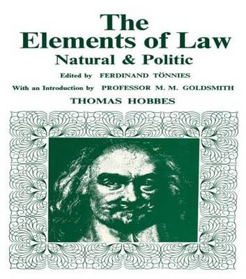 Elements of Law, Natural and Political (Hardback)