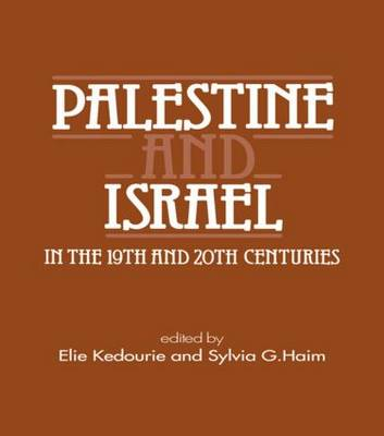 Palestine and Israel in the 19th and 20th Centuries (Paperback)