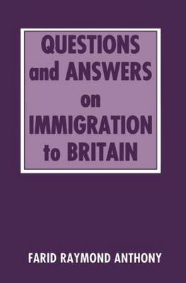 Questions and Answers on Immigration in Britain (Paperback)
