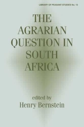 The Agrarian Question in South Africa (Paperback)