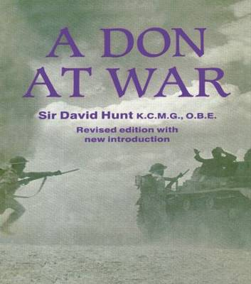 A Don at War - Studies in Intelligence (Paperback)