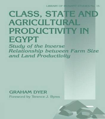Class, State, and Agricultural Productivity in Egypt: Study of the Inverse Relationship Between Farm Size and Land Productivity (Hardback)