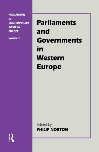 Parliaments in Contemporary Western Europe (Hardback)