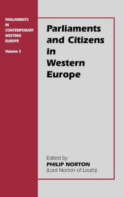 Parliaments and Citizens in Western Europe (Hardback)
