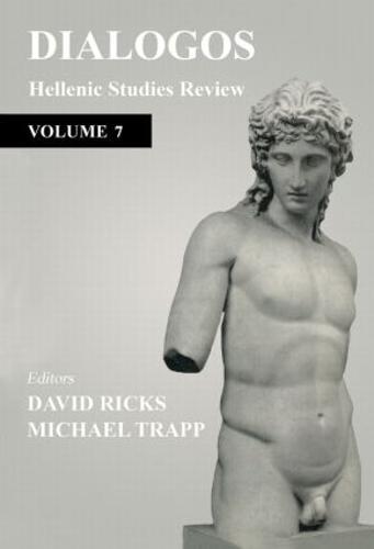 Dialogos: Hellenic Studies Review (Paperback)