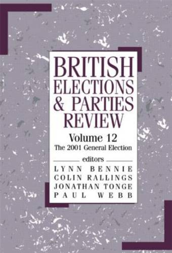 British Elections & Parties Review: The 2001 General Election (Paperback)