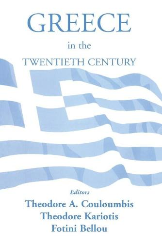 Greece in the Twentieth Century (Paperback)