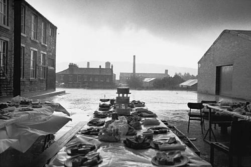 Jubilee Street Party, Elland, Yorkshire,1977: from 'Bad Weather' (Hardback)