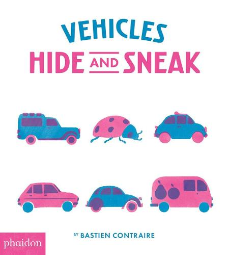 Vehicles Hide and Sneak (Board book)
