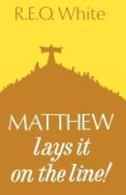 Matthew Lays It on the Line (Paperback)