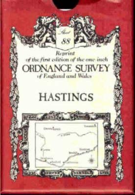 Ordnance Survey Maps: Hastings No. 88 (Sheet map, folded)