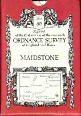 Ordnance Survey Maps: Maidstone No. 80 (Sheet map, folded)