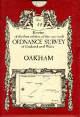 Ordnance Survey Maps: Oakham No. 44 (Sheet map, folded)