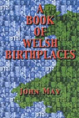 A Book of Welsh Birthplaces (Paperback)