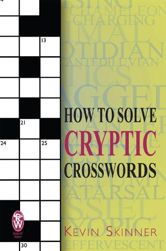 How to Solve Cryptic Crosswords (Paperback)