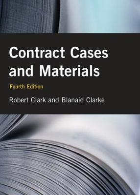 Contract Cases and Materials (Paperback)