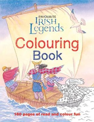 Irish Legends for Children Colouring Book (Paperback)