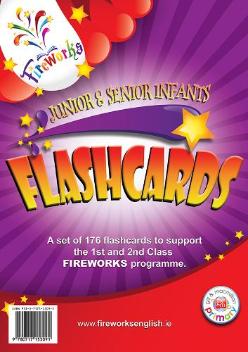 Infants Flashcards - Fireworks English