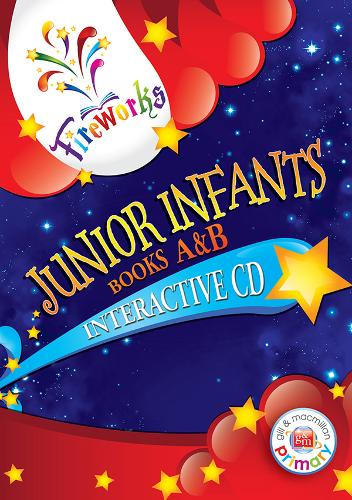 Junior Infants Interactive CD Books A&B - Fireworks English (CD-ROM)