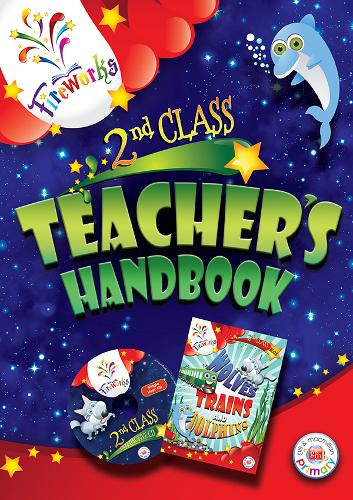 Wolves, Trains and Dolphins 2nd Class Teacher's Book - Fireworks English (Paperback)