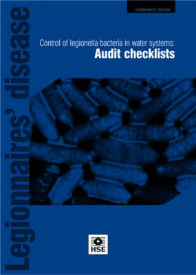Legionnaires' disease: control of legionella bacteria in water systems, audit checklists (pack of 10 pads) (Paperback)