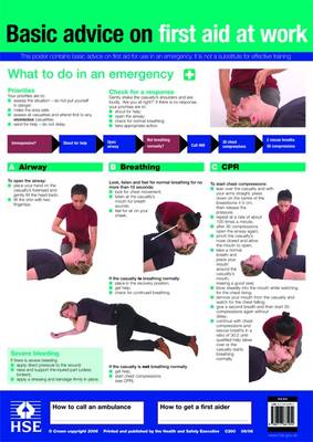 First Aid at Work Poster (Poster)
