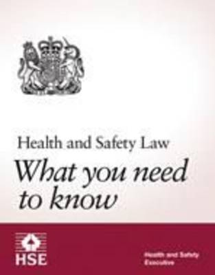 Health and safety law: what you should know foldable pocket cards (pack of 25) (Paperback)