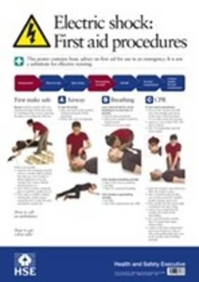 Electric shock: first aid procedures (Poster) (Wallchart)
