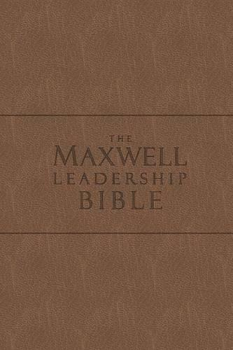 Maxwell Leadership Bible-NKJV-Briefcase (Leather / fine binding)