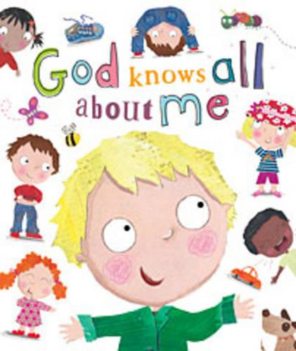 God Knows All about Me (Board book)